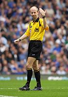 Photo: Daniel Hambury.<br />Chelsea v Blackburn Rovers. The Barclays Premiership.<br />29/10/2005.<br />Referee Mike Riley.