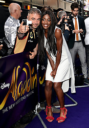 Aladdin Press Night held at Prince Edward Theatre, Old Compton Street, London on Wednesday 15 June 2016
