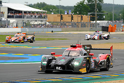 June 16, 2018 - Le Mans, Sarthe, France - Jackie Chan DC Racing LIGIER JSP217 Gibson Driver RICKY TAYLOR (USA) in action during the 86th edition of the 24 hours of Le Mans 2nd round of the FIA World Endurance Championship at the Sarthe circuit at Le Mans - France (Credit Image: © Pierre Stevenin via ZUMA Wire)