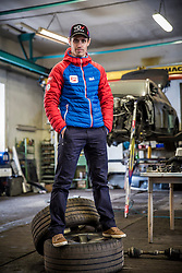 04.02.2015, Eisenerz, AUT, Lukas Klapfer im Portrait, im Bild der Österreichische Kombinierer Lukas Klapfer während eines Fototermins // the Austrian Nordic Combined Athlete Lukas Klapfer during a Photocall in Eisenerz, Austria on 2015/02/04. EXPA Pictures © 2015, PhotoCredit: EXPA/ Erwin Scheriau