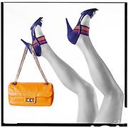 Fashion Triptych, Chanel handbag