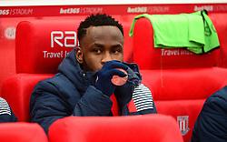 Saido Berahino of Stoke City starts on the bench for stoke.- Mandatory by-line: Alex James/JMP - 11/02/2017 - FOOTBALL - Bet365 Stadium - Stoke-on-Trent, England - Stoke City v Crystal Palace - Premier League