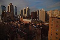 Upper West Side NewYork City Skyline<br /> <br /> Photo by Robert Caplin