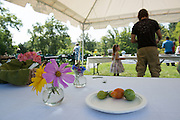 The annual garden party at the Child Development Center. Photo By Ben Siegel/ Ohio University