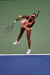 09.09.2017, Nowy Jork, Turniej tenisowy wielkoszlemowy US Open, Sloane Stephens (USA),  fot. Ewa Janikowski / Foto Olimpik<br />/// POLAND & FRANCE OUT