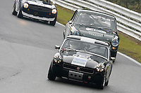 #421 S Chaplin / A Chaplin MG Midget 1330 during the CSCC Adams and Page Swinging Sixties at Oulton Park, Little Budworth, Cheshire, United Kingdom. October 15 2016. World Copyright Peter Taylor/PSP. <br /> Copy of publication required for printed pictures.  Every used picture is fee-liable. http://archive.petertaylor-photographic.co.uk