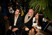 ANDREA CLEMENTE; FRANCESCA CLEMENTE; ELIZABETH SALTZMAN, Rodarte Poolside party to show their latest collection. Hosted by Kate and Laura Muleavy, Alex de Betak and Katherine Ross.  Chateau Marmont. West  Sunset  Boulevard. Los Angeles. 21 February 2009 *** Local Caption *** -DO NOT ARCHIVE -Copyright Photograph by Dafydd Jones. 248 Clapham Rd. London SW9 0PZ. Tel 0207 820 0771. www.dafjones.com<br /> ANDREA CLEMENTE; FRANCESCA CLEMENTE; ELIZABETH SALTZMAN, Rodarte Poolside party to show their latest collection. Hosted by Kate and Laura Muleavy, Alex de Betak and Katherine Ross.  Chateau Marmont. West  Sunset  Boulevard. Los Angeles. 21 February 2009