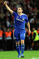 Frank Lampard Celebrates Scoring Goal<br /> Champions League Finale Manchester United FC - FC Chelsea <br /> <br /> Norway only
