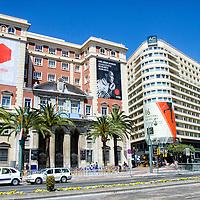 Antigua diputación de Málaga, Andalucia. España. Former council of Malaga, Andalucia. Spain