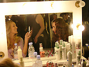 Jerry Hall and her daughter Elizabeth Jagger, Clothesline, fundraising fashion show and auction to raise money for an aids charity in Africa. chelsea Gardener, 20 September 2004. SUPPLIED FOR ONE-TIME USE ONLY-DO NOT ARCHIVE. © Copyright Photograph by Dafydd Jones 66 Stockwell Park Rd. London SW9 0DA Tel 020 7733 0108 www.dafjones.com