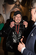 NICKY HASLAM, The George Michael Collection drinks.  Christie's, King St. London, 12 March 2019