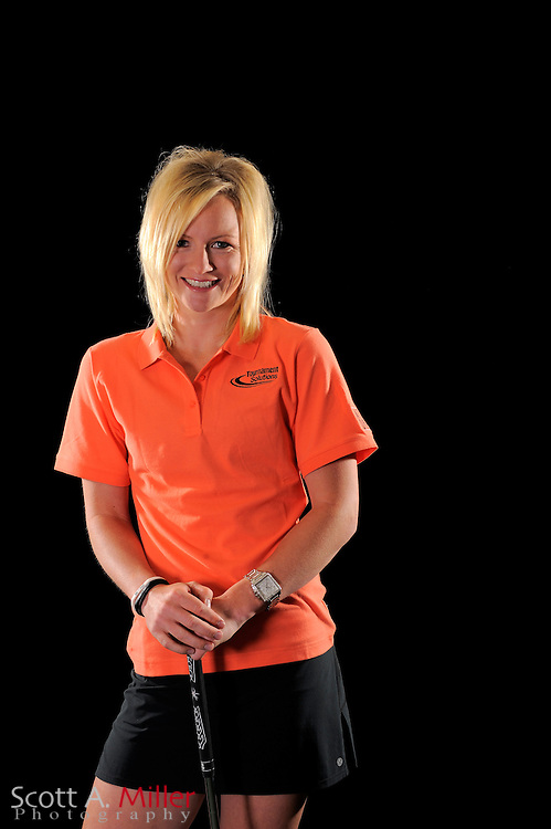 Nicole Smith during a portrait shoot prior to the LPGA Future Tour's Daytona Beach Invitational at LPGA International's Championship Courser on March 28, 2011 in Daytona Beach, Florida... ©2011 Scott A. Miller
