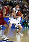 Olimpiadi Sydney 2000<br /> Italia - Cina<br /> Nella foto: Gregor Fucka<br /> Foto Ciamillo