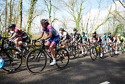 Dalia Muccioli (ITA) battles up the first climb at Amstel Gold Race - Ladies Edition 2018, a 116.9 km road race from Maastricht to Berg en Terblijt on April 15, 2018. Photo by Sean Robinson/Velofocus.com