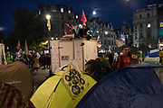 CYCLE GENERATOR, Extinction Rebellion protests. Westminster, London. 9 October 2019