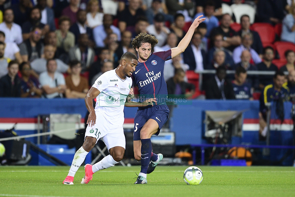 August 25, 2017 - Paris, France, France - RABIOT Adrien (PSG) vs JANKO Saidy  (Credit Image: © Panoramic via ZUMA Press)