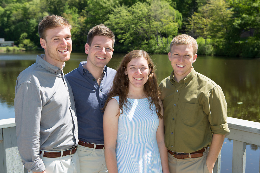 Lucas Family Portrait, Mount Holyoke College, South Hadley, MA, 5/21/18.