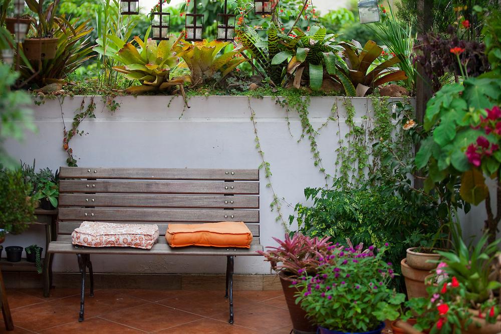 Belo Horizonte_MG, Brasil...Jardim em um apartamento em Belo Horizonte, Minas Gerais...A garden in a flat in Belo Horiznte, Minas Gerais...Foto: JOAO MARCOS ROSA / NITRO