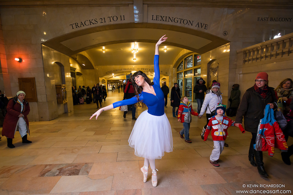 Patricia McTigue Ballerina Grand Central Terminal Dance As Art The New York City Photography Project