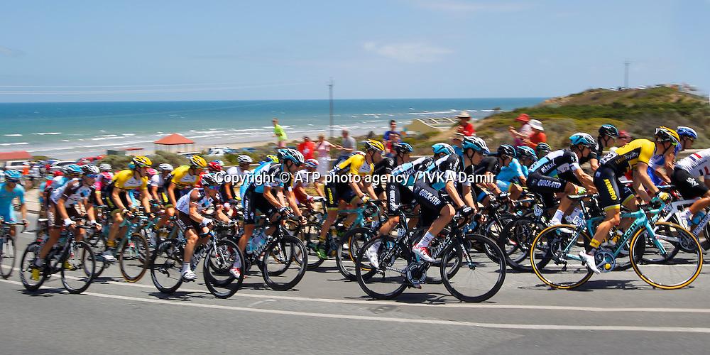 2015 Santos Tour Down Under. Adelaide. Australia. 24.1.2015.  Stage 5. Mc Laren Vale to Willunga Hill.151.5km,<br /> # 142, DE LA CRUZ MELGAREJO David, ESP, Team ETIXX-QUICK STEP<br /> - Tour Down Under Australia 2015, Cycling, road race, Radrennen, Australien -  Radsport - Rad Rennen <br /> - fee liable image: copyright &copy; ATP - IVKA Damir