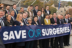 Save our Surguries Protest | Edinburgh | 26 October 2017