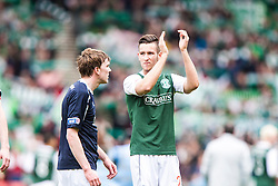 Falkirk's David Weatherston and Falkirk's Kieran Duffie at the end..Hibernian 4 v 3 Falkirk, William Hill Scottish Cup Semi Final, Hampden Park...