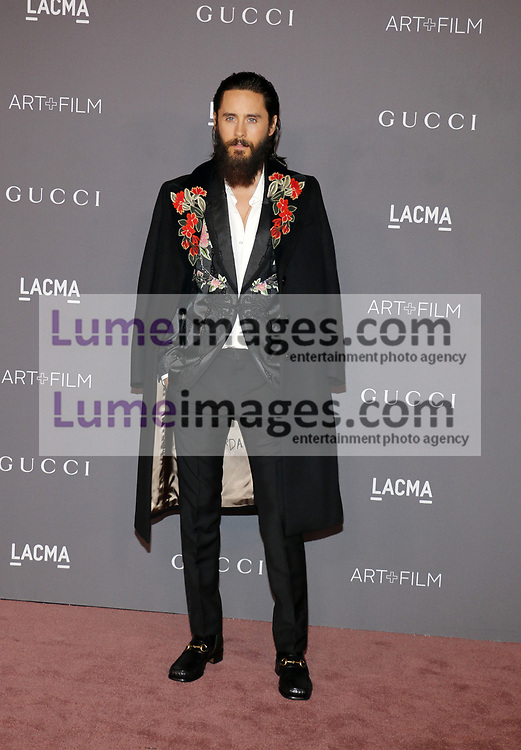 Jared Leto at the 2017 LACMA Art + Film Gala held at the LACMA in Los Angeles, USA on November 4, 2017.