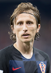 July 1, 2018 - Nizhny Novgorod, Russia - Luka Modric of Croatia during the 2018 FIFA World Cup Russia Round of 16 match between Croatia and Denmark at Nizhny Novgorod Stadium on July 1, 2018 in Nizhny Novgorod, Russia. (Credit Image: © Foto Olimpik/NurPhoto via ZUMA Press)