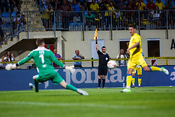 during 2nd Leg football match between FC Valur Reykjavik and NK Domzale in 2nd Qualifying Round of UEFA Europa League 2017/18, on July 20, 2017 in Domzale, Slovenia. Photo by Grega Valancic / Sportida