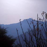 Amanecer sobre el Pico Bolivar, Merida, Estado Mérida, Venezuela