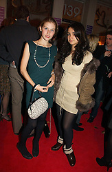 Left to right, ISABELLE OGDEN and NELL POWER daughter of Vince Power at a party to launch Pearl Lowe's fashion held at The Cross. 141 Portland Road, Holland Park, W11 on 30th October 2006.<br /><br />NON EXCLUSIVE - WORLD RIGHTS