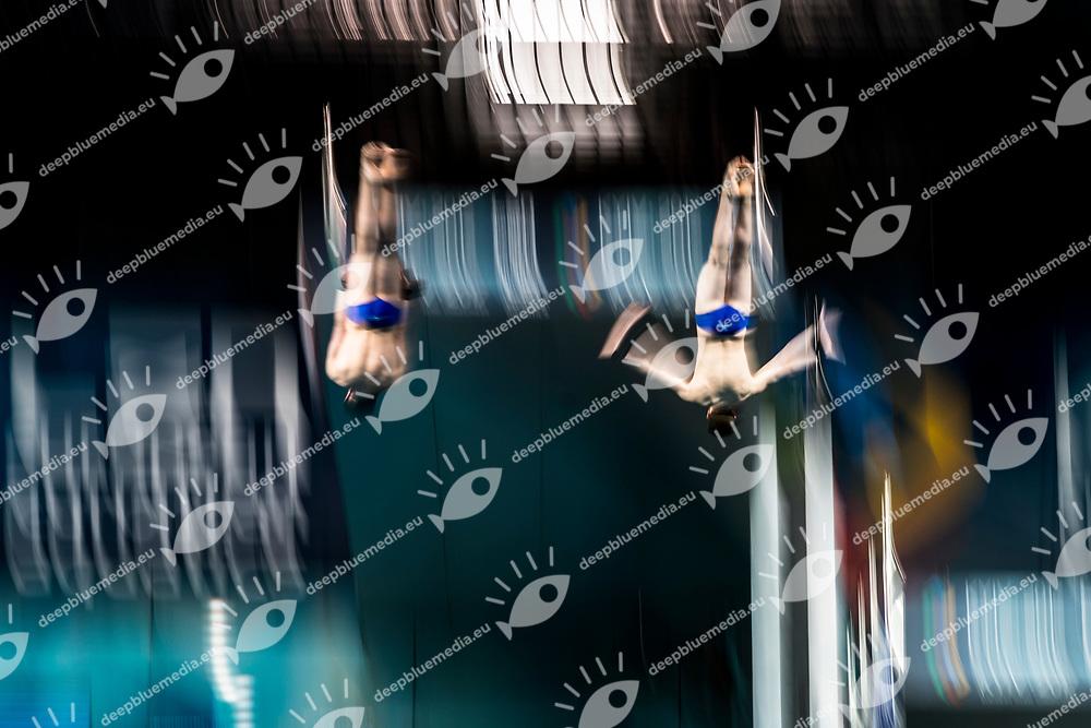 WILLIAMS Noah GBR, DIXON Matthew GBR<br /> Synchronised Men Platform Final<br /> LEN European Diving Championships 2017<br /> Sport Center LIKO, Kiev UKR<br /> Jun 12 - 18, 2017<br /> Day04 15-06-2017<br /> Photo &copy; Giorgio Scala/Deepbluemedia/Insidefoto