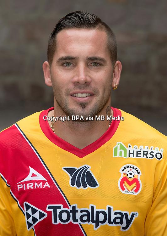 Mexico League - BBVA Bancomer MX 2015-2016 - <br /> La Monarquia - Club Atletico Monarcas Morelia / Mexico - <br /> Mauro Emiliano Cejas &quot; Mauro Cejas &quot;