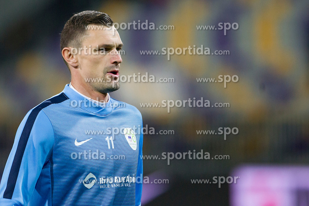 Milivoje Novakovic (SLO) during the UEFA EURO 2016 Play-off for Final Tournament, Second leg between Slovenia and Ukraine, on November 17, 2015 in Stadium Ljudski vrt, Maribor, Slovenia. Photo by Urban Urbanc / Sportida