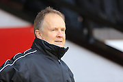 Sean O'Driscoll during the Sky Bet League 1 match between Walsall and Rochdale at the Banks's Stadium, Walsall, England on 2 January 2016. Photo by Daniel Youngs.