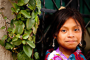 Indigenous girl in Zinacantan