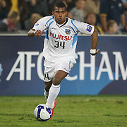 Renatinho in action during the AFC Champions League group H match between Central Coast Mariners (Australia) and Kawasaki Frontale (Japan) at Gosford Stadium, Australia on April 08, 2009. Kawasaki won the game 5-0.  Photo Tim Clayton