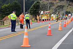 Paekakariki-Gas leak blocks SH1