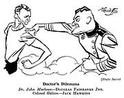 State Secret ; Jack Hawkins and Douglas Fairbanks Jnr