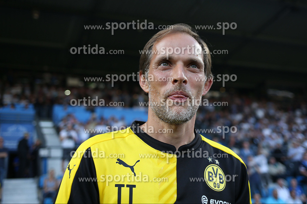 17.07.2015, RewiePower Stadion, Bochum, GER, Testspiel, VfL Bochum vs Borussia Dortmund, im Bild Trainer Thomas Tuchel (Borussia Dortmund) // during the Interntational Friendly Football Match between VfL Bochum and Borussia Dortmund at the RewiePower Stadion in Bochum, Germany on 2015/07/17. EXPA Pictures &copy; 2015, PhotoCredit: EXPA/ Eibner-Pressefoto/ Schueler<br /> <br /> *****ATTENTION - OUT of GER*****