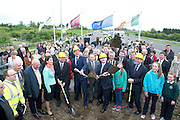 09/05/2014 Sod turning ceremony of the last section of the M17/M18   from Gort to Tuam in Co. Galway. Late 2018 is finish date. Photo:Andrew Downes.