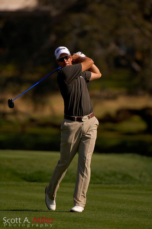 Henrik Stenson in action during the Arnold Palmer Invitational at Bay Hill Club and Lodge on March 15, 2007 in Orlando, Florida...© 2007 Scott A. Miller