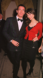 MR TIM JEFFRIES former husband of Koo Stark and model LISA B, at a fashion show in London on 17th November 1998.MMC 32