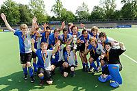 hockey, seizoen 2010-2011, 10-06-2011, amstelveen, Finale Nationale Shell Schoolhockeycompetitie 2011, Jongens Jong Stedelijk Gymnasium Leiden - Marnix College Ede 0-4, Marnix College Ede winnaar Jongen Jong