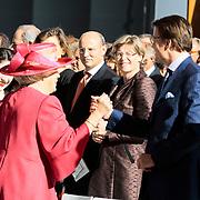 NLD/Amsterdam/20120922 - Koningin Beatrix opent het Vernieuwde Stedelijk Museum ,