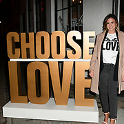 Camilla Thurlow arrives at Choose Love shop launch at Foubert's Place, Carnaby on 22 November 2018, London, UK.
