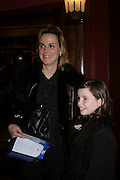 the Hon Sophie Montgomery and Claudia, Mary Poppins Gala charity night  in aid of Over the Wall. Prince Edward Theatre. 14 December 2004. ONE TIME USE ONLY - DO NOT ARCHIVE  © Copyright Photograph by Dafydd Jones 66 Stockwell Park Rd. London SW9 0DA Tel 020 7733 0108 www.dafjones.com