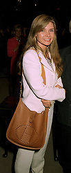 MRS FRANK LOWE wife of the leading media guru, at a reception in London on 22nd May 1997.LYM 27 WO