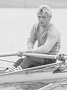 Nottingham. United Kingdom. <br /> BEL LM1X. Wim van BELLEGHEM, Nottingham International Regatta, National Water Sport Centre, Holme Pierrepont. England<br /> <br /> 31.05.1986 to 01.06.1986<br /> <br /> [Mandatory Credit: Peter SPURRIER/Intersport images] 1986 Nottingham International Regatta, Nottingham. UK