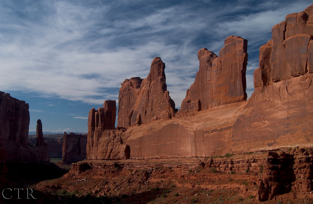 Park Avenue, Arches National Park, Moab, Utah
